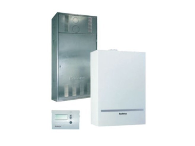 Gas wall-mounted condensation boiler LOGAMAX PLUS GB032 by BUDERUS