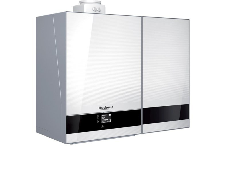 Wall-mounted condensation boiler LOGAMAX PLUS GB192 30I T40 S W H by BUDERUS