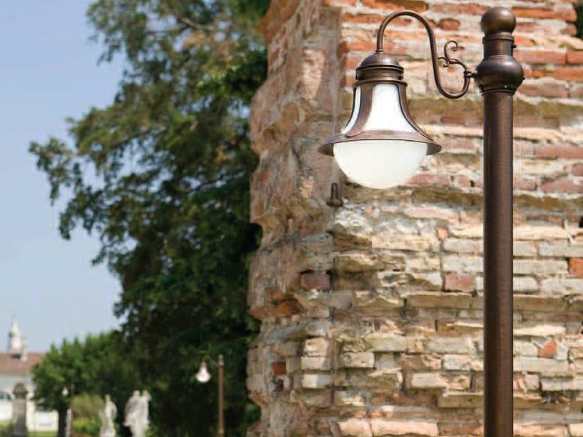 Metal garden lamp post LOGGIA | Garden lamp post by Aldo Bernardi