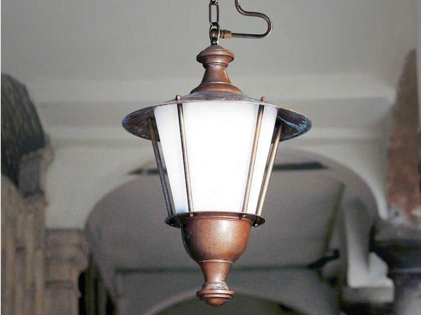 Metal pendant lamp LOGGIATO | Metal pendant lamp by Aldo Bernardi