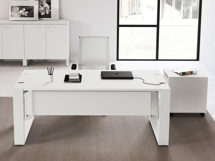 Rectangular Office Desk Logic By Las Mobili