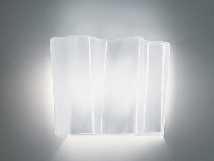 Direct light blown glass wall lamp LOGICO | Wall lamp by Artemide
