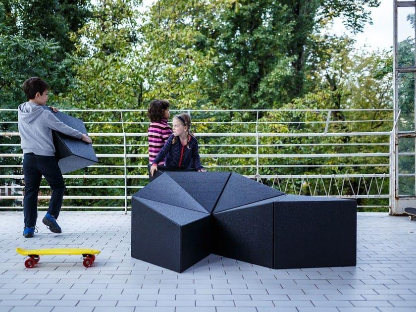 Interactive furniture LOGIFACES by Planbureau
