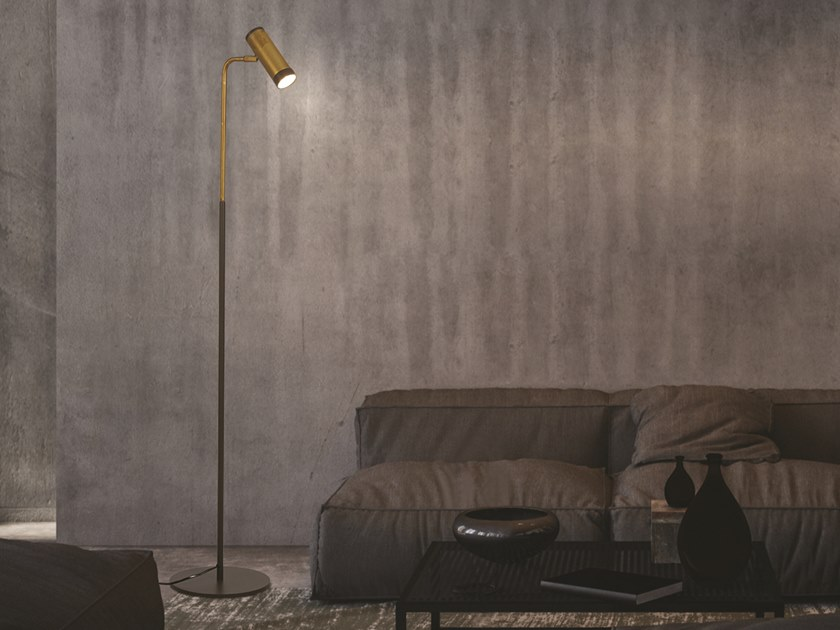 Brass floor lamp LOLA 929/65 by Gibas