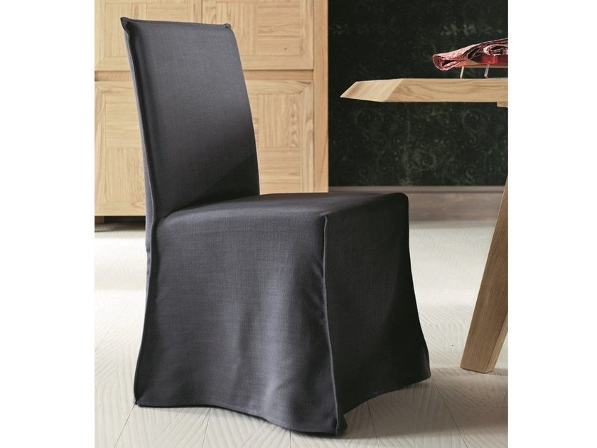 Upholstered fabric chair LOLA by AltaCorte