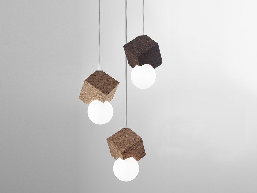 LED cork pendant lamp LOLIPOP | Pendant lamp by Exporlux