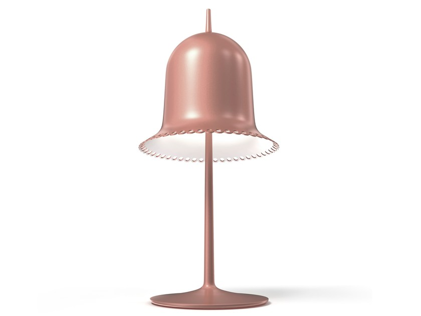 Adjustable plastic table lamp with fixed arm LOLITA TABLE LAMP by moooi