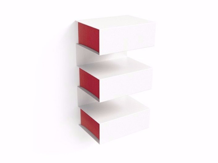 Plate wall cabinet with drawers LOMBARD by KONSTANTIN SLAWINSKI