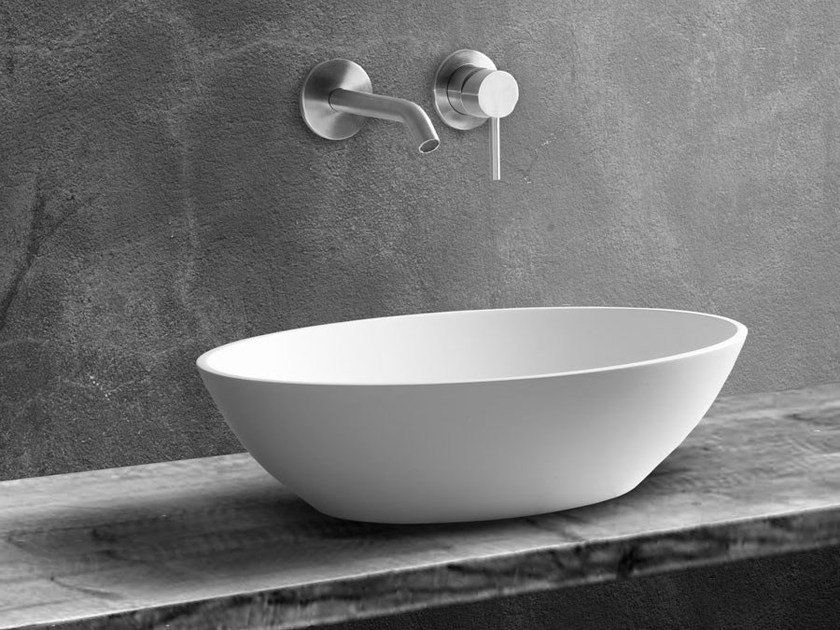 Countertop oval washbasin LONDON by JEE-O