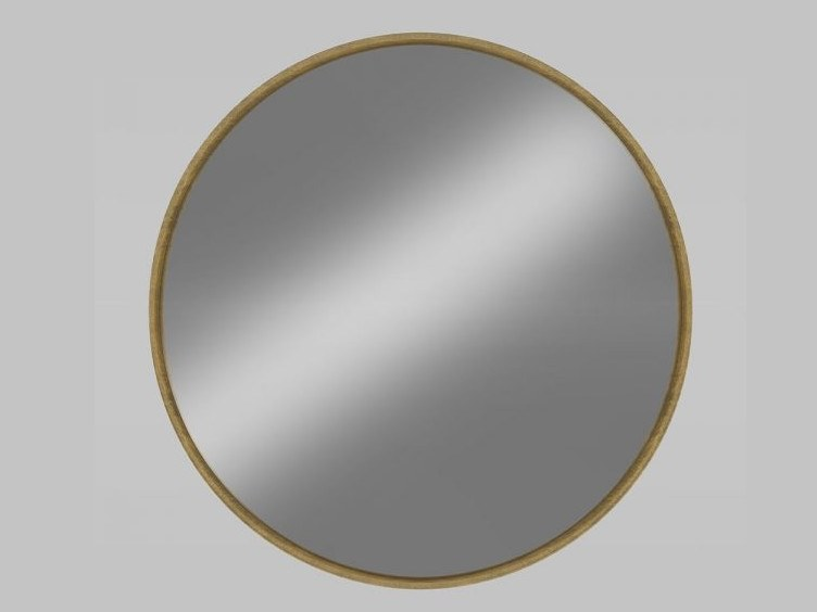 Round wall-mounted framed mirror LONDON by Emotional Projects