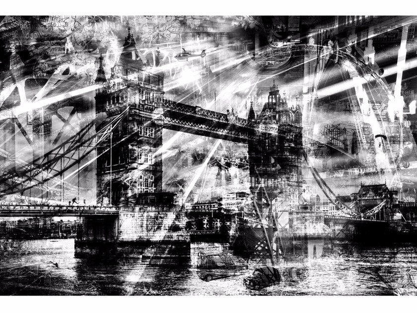 Photographic print LONDON SHADOWS - FINE ART PHOTOGRAPHY by 99 Limited Editions