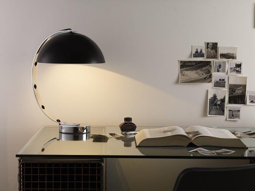 Con Original LondonLampada Btc Braccio In Tavolo Alluminio Da Fisso 29EHIWD