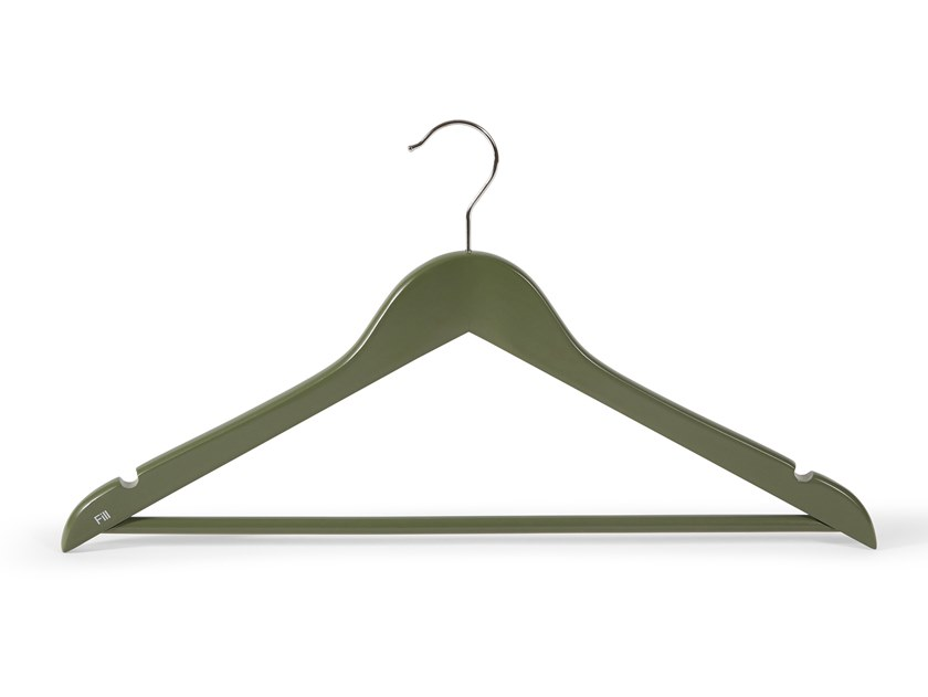 Wooden clothes hanger LONDON by Fill