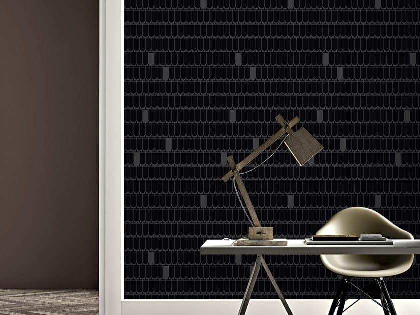 Motif vinyl wallpaper LONG ACORN by Baboon