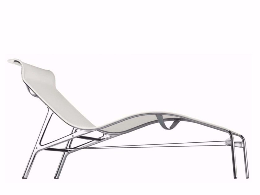 Mesh lounge chair LONGFRAME - 419 by Alias