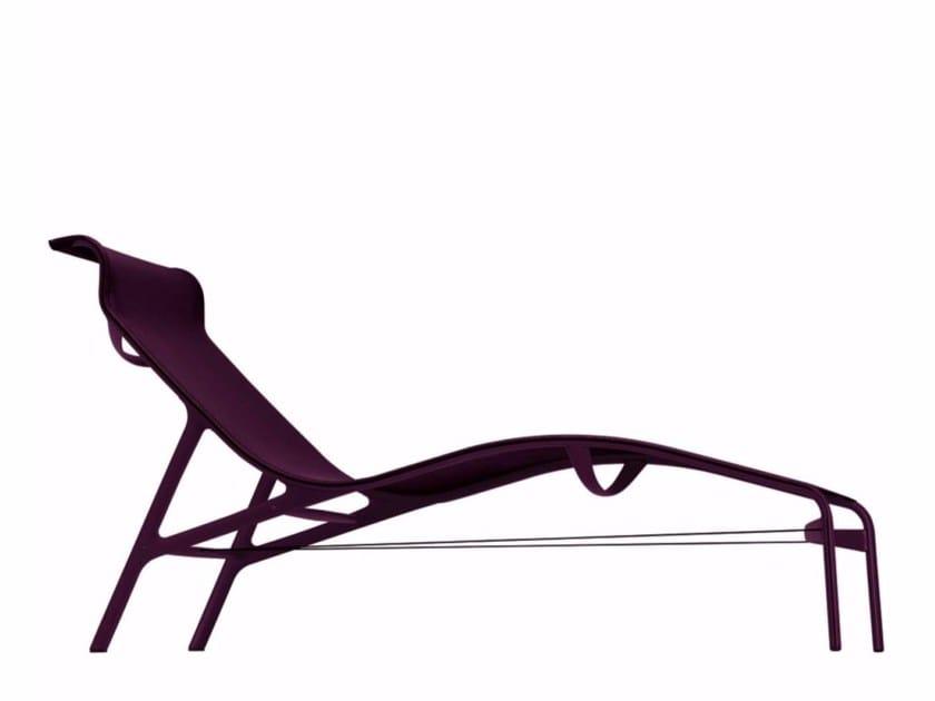 Mesh lounge chair LONGFRAME COLORS - 419_C by Alias