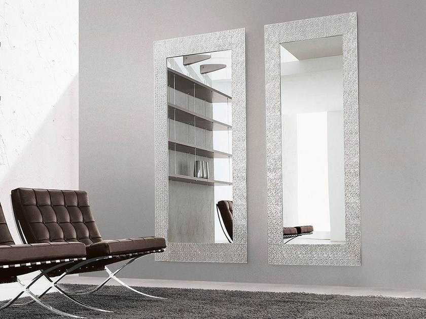Rectangular wall-mounted framed mirror LOOK AT ME by ALIVAR
