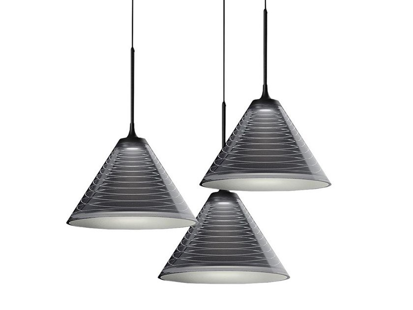 LED aluminium pendant lamp LOOK AT ME | Pendant lamp by Artemide