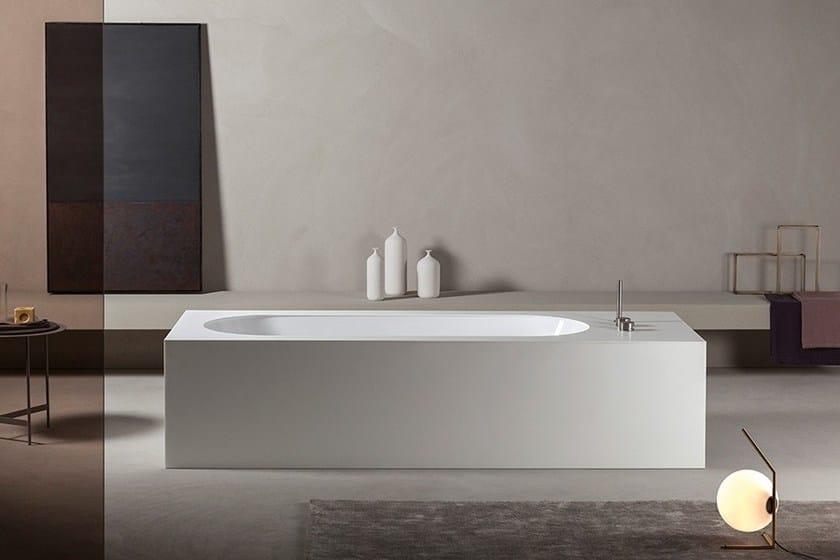 unterbau badewanne aus corian look by makro. Black Bedroom Furniture Sets. Home Design Ideas