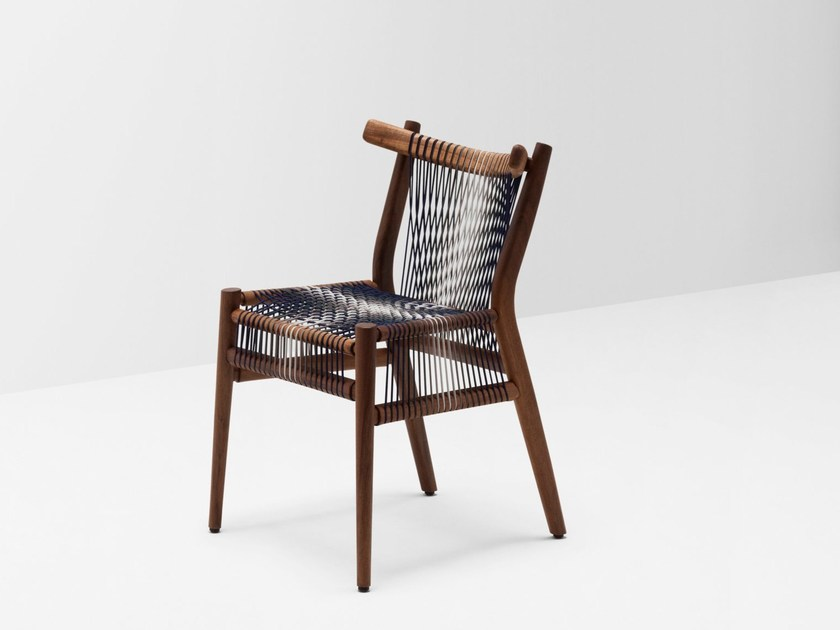 Sedia in noce LOOM BY PTOLEMY MANN | Sedia by H Furniture