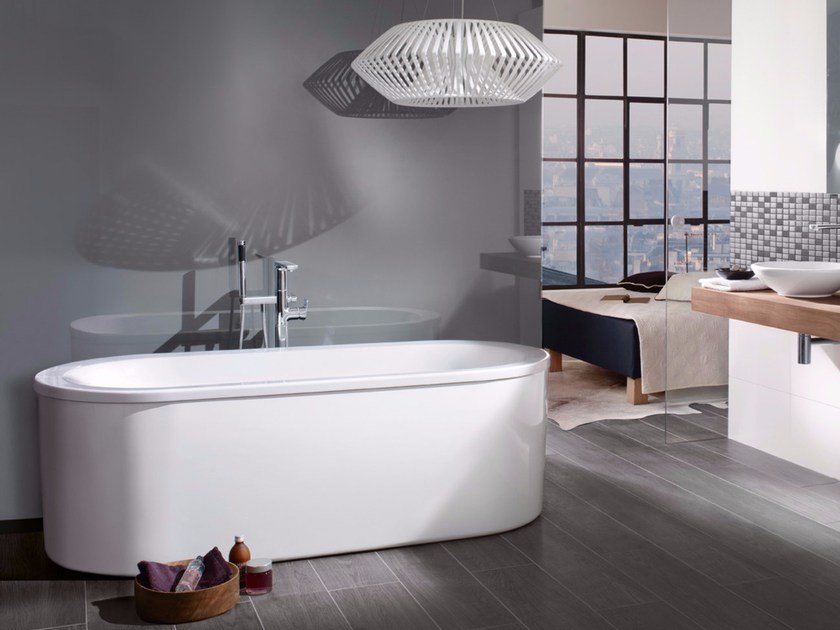 LOOP & FRIENDS | Vasca da bagno in acrilico By Villeroy & Boch