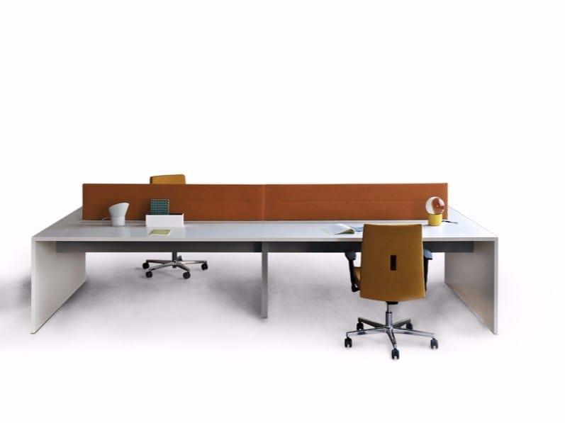 Multiple office workstation LOOP IN | Multiple office workstation by ESTEL GROUP