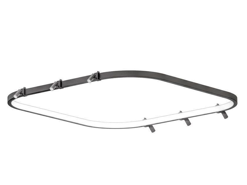 LED aluminium Track-Light LOOP | Track-Light by Martinelli Luce