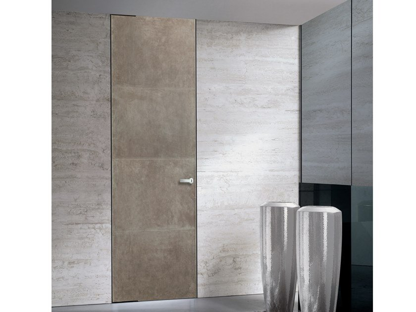 Hinged leather door LORD | Leather door by Longhi