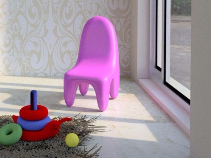 Adamantx® kids chair LORIBLANCHE | Kids chair by ZAD ITALY