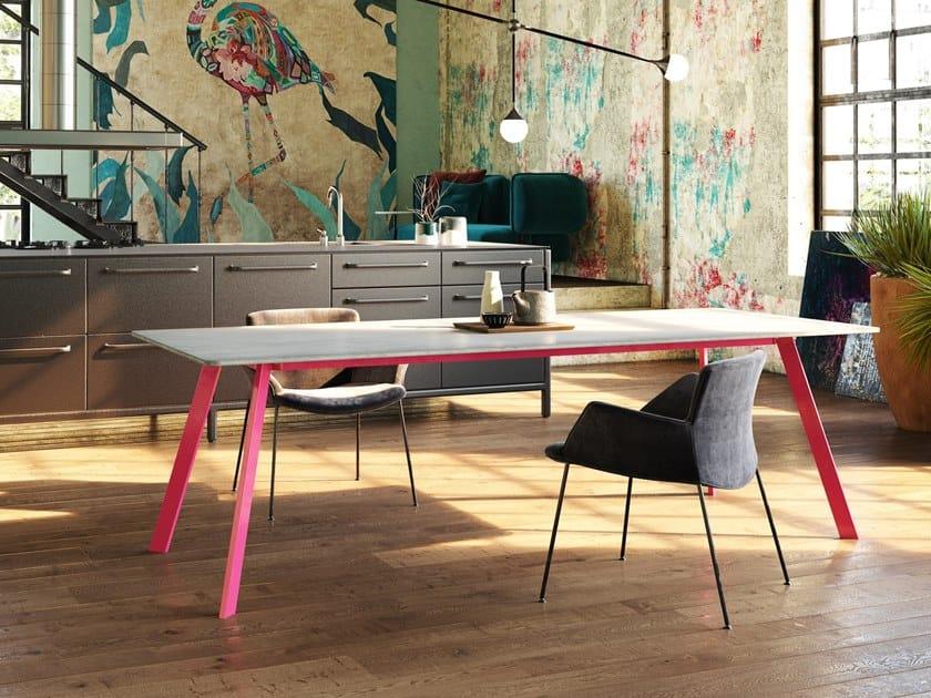 Concrete table LORIKEET by Gravelli
