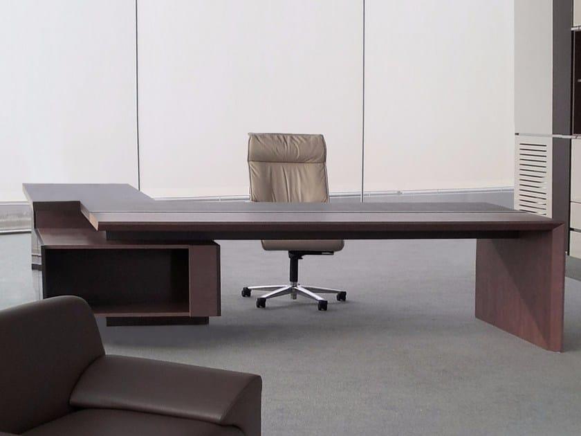 L-shaped executive desk LOSPER by JOSE MARTINEZ MEDINA
