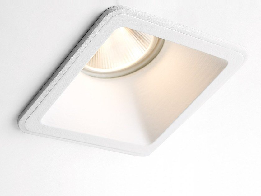 Square recessed spotlight LOTIS SQUARE by Modular Lighting Instruments