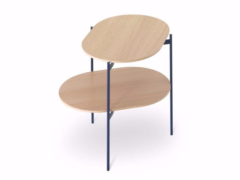Tavolino in legno LOTO by Caccaro