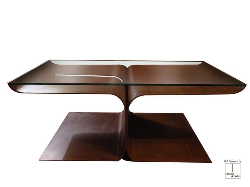 Steel coffee table LOTO by Gonzalo De Salas