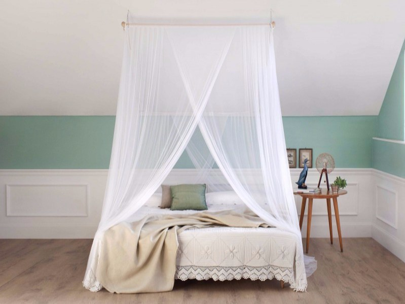 Canopy mosquito net for double beds LOTTI by Grigolite