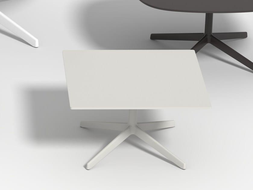 Low square coffee table LOTTUS AL | Square coffee table by ENEA