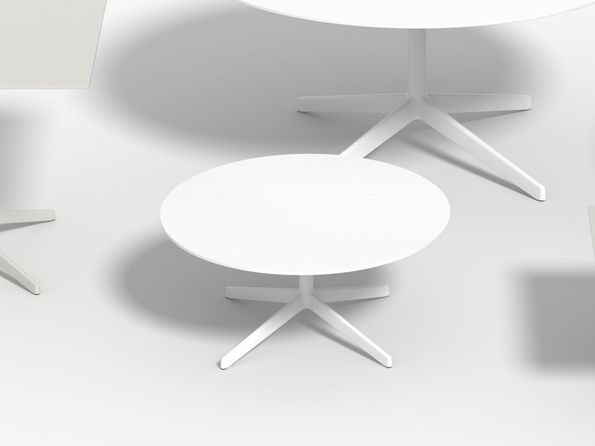 Low round coffee table LOTTUS AL | Round coffee table by ENEA