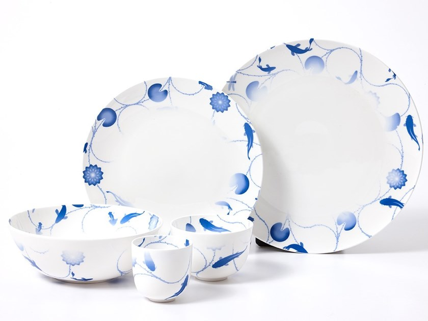 LOTUS AND FISH | Dinner plate Lotus and Fish Collection By ZENS Lifestyle design Michael Young  sc 1 st  Archiproducts & LOTUS AND FISH | Dinner plate Lotus and Fish Collection By ZENS ...