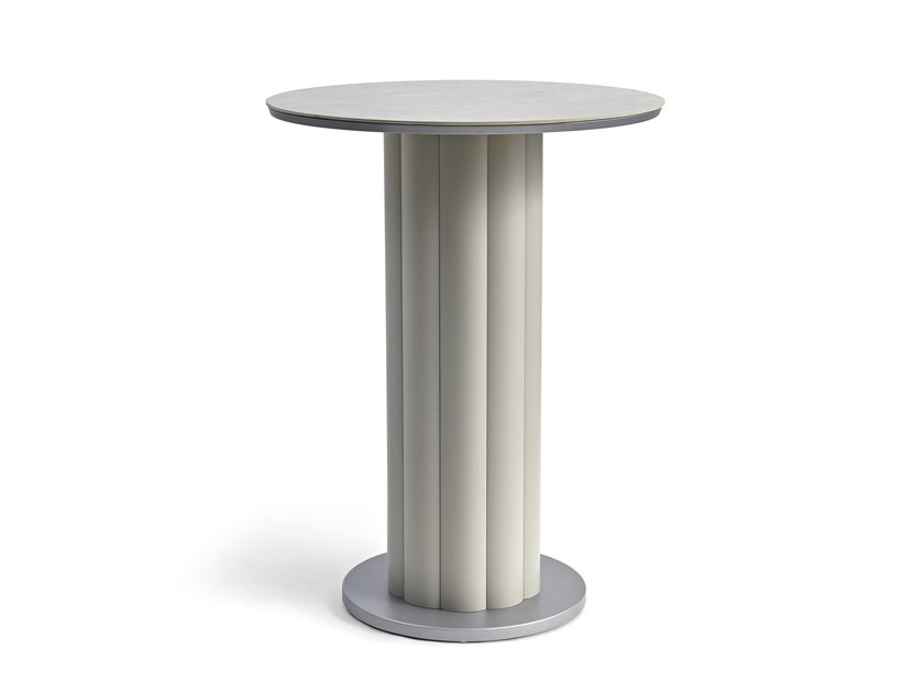 Round high table LOTUS | High table by Kun Design