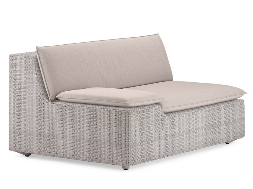Lou divano modulare collezione lou by dedon design toan - Divano modulare ...