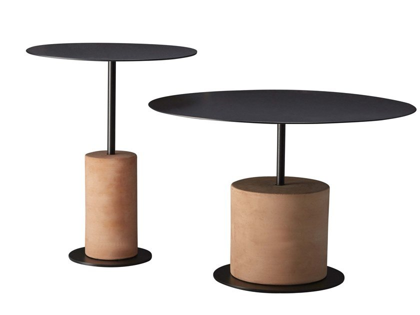 Low round coffee table LOUIE by SP01