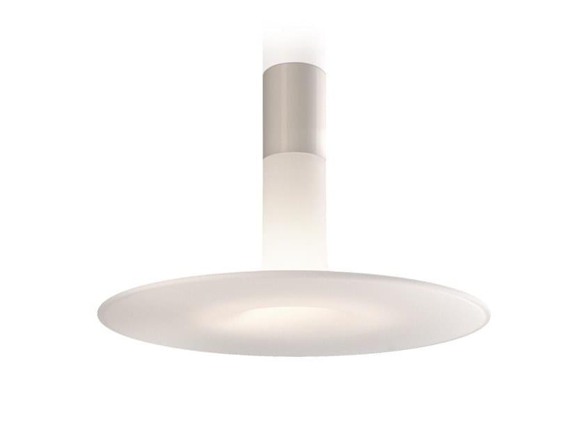 Polyethylene ceiling lamp LOUIS by KUNDALINI