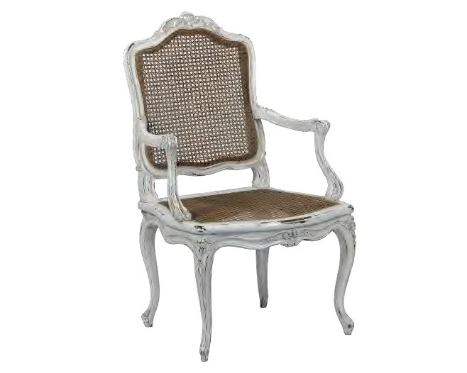 Louis XV wooden chair with armrests LOUIS XV / 11.129F | Chair with armrests by ASTELLO