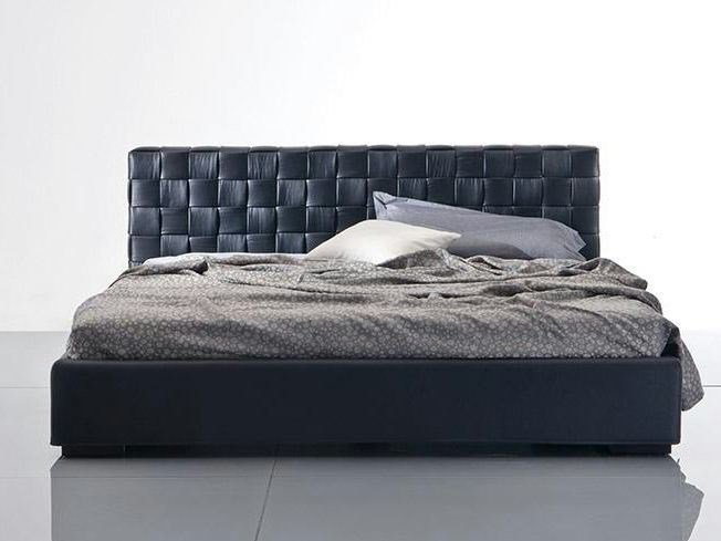 Bed with upholstered headboard LOUISANA | Bed with upholstered headboard by Marac