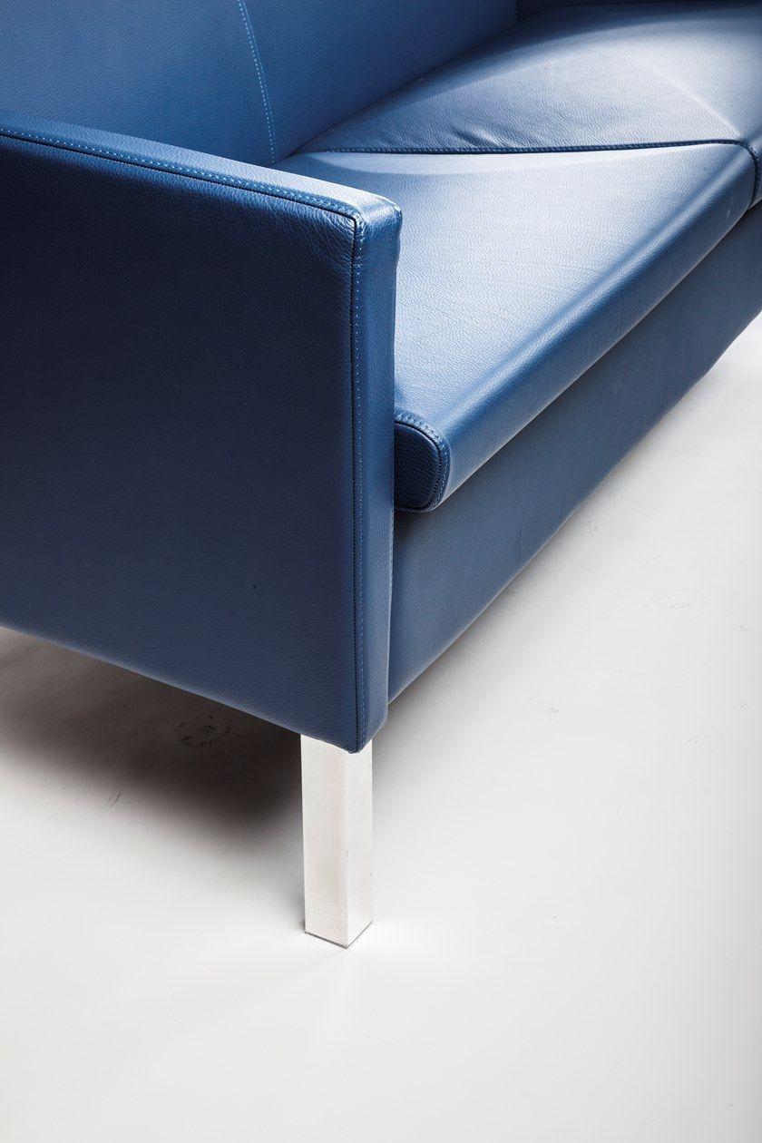 LOUNGE Poltrona - Particolare piedi acciaio cromato