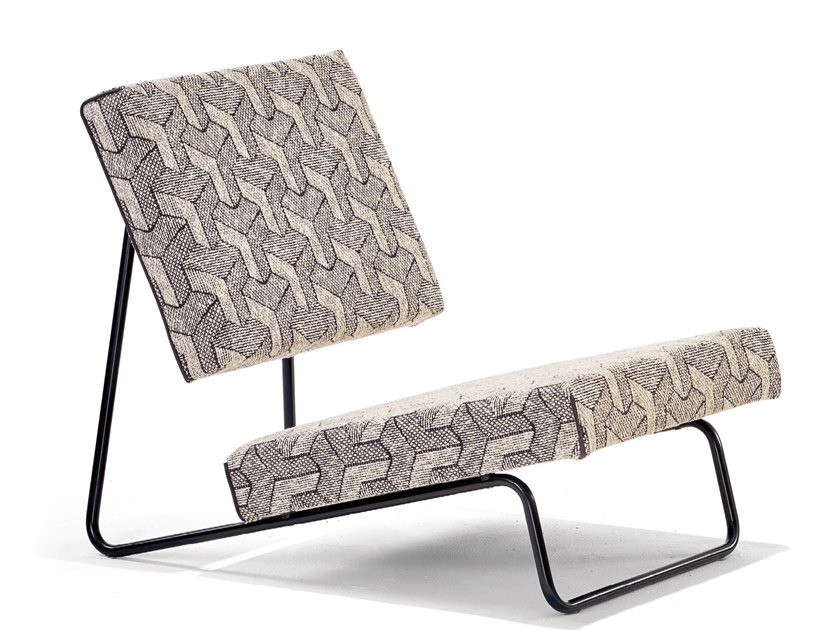 Fabric armchair LOUNGE | Fabric armchair by Richard Lampert