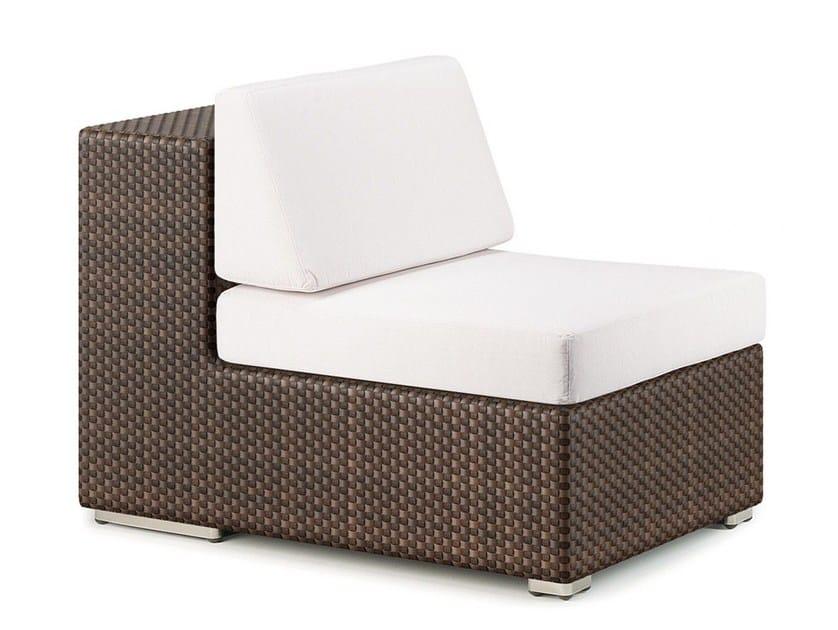 Modular garden armchair LOUNGE | Garden armchair by Dedon
