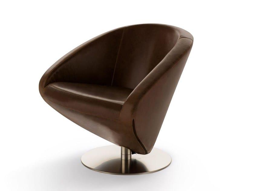 Swivel armchair LOVE by Arketipo