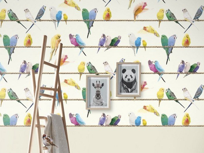 Wallpaper LOVEBIRDS by Koziel