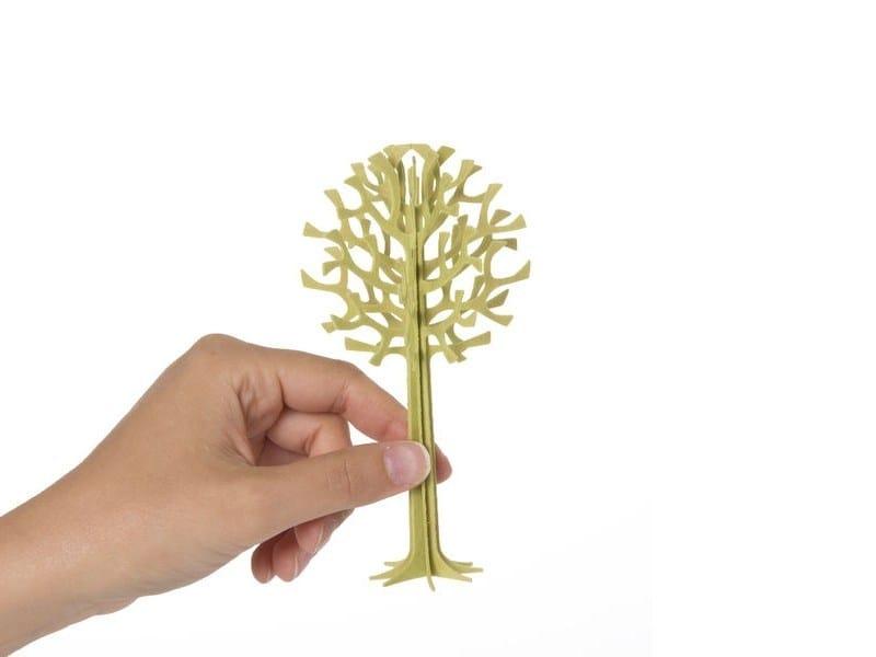 Plywood decorative object LOVI TREE 13,5CM by Lovi